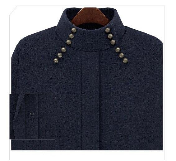 Manteau De Cape Lâche Femininos Cachemire Poncho Mode Dames Manteaux Chaud Pardessus Outwear Hiver Femmes Laine camel Automne Bleu Mélange 2018 Xq0Ixw7T