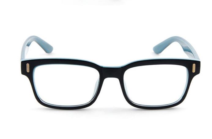 Eyesilove men Anti-blue ray myopia glasses blue light blocking filter computer eyeglasses prescription glasses -0.50 to -6.00