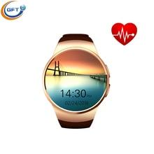 GFT kw18 smart uhr Pulsuhr smartwatch Bluetooth Konnektivität für Apple iphone Android-Handy Uhr