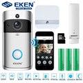 EKEN V5 видео дверной звонок умный беспроводной WiFi дверной звонок безопасности визуальная запись домашний монитор ночного видения домофон дв...