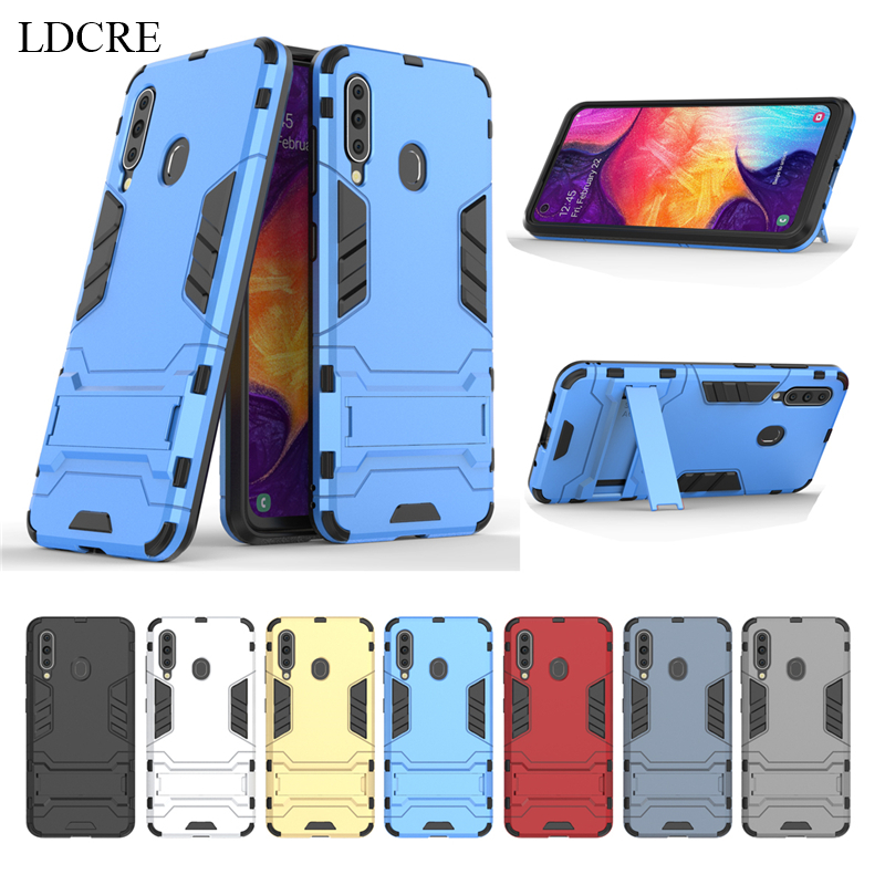 Image 2 - For Samsung Galaxy A60 Case SM A606 Luxury Robot Hard Back Fundas Phone Case For Samsung Galaxy A60 Cover For Samsung A60 Case-in Fitted Cases from Cellphones & Telecommunications
