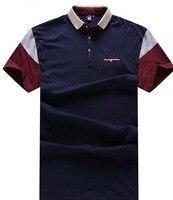 10XL 9XL 8XL 6XL Mens Polo Shirt Brands Slim Fit Casual Solid Polo Shirts Brand Clothing Short Sleeve Fashion Poloshirt Summer