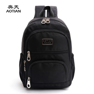 Aotian fashion waterproof nylon solid fresh youth women backpacks colorful vogue hipster Korean style travel girls school bag squirrel fashion nylon solid casual waterproof classic women shoulder bags vogue hipster cross body youth girls commuter tote