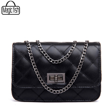 Hot Women Messenger Bags 2017 High Quality PU Leather Famous Brands Design Women Bag Luxury Classical Women Handbags C0391/l