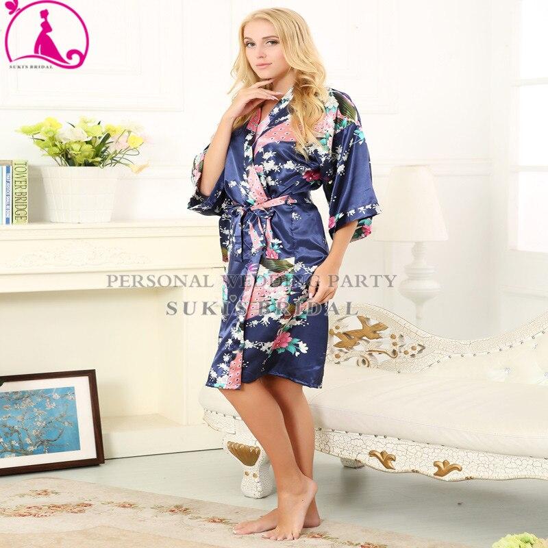 Silk Robe Wedding Gwon Floral Robes Baby Gown Plus Maternity Nursing ...