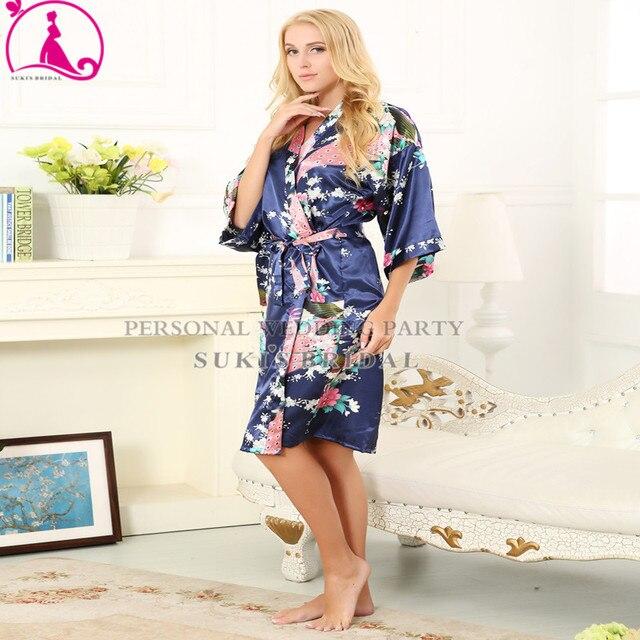 b40277d3fb1 Silk Robe Wedding Gwon Floral Robes Baby Gown Plus Maternity Nursing Robe  Nightgowns Sleepwear robe longue femme