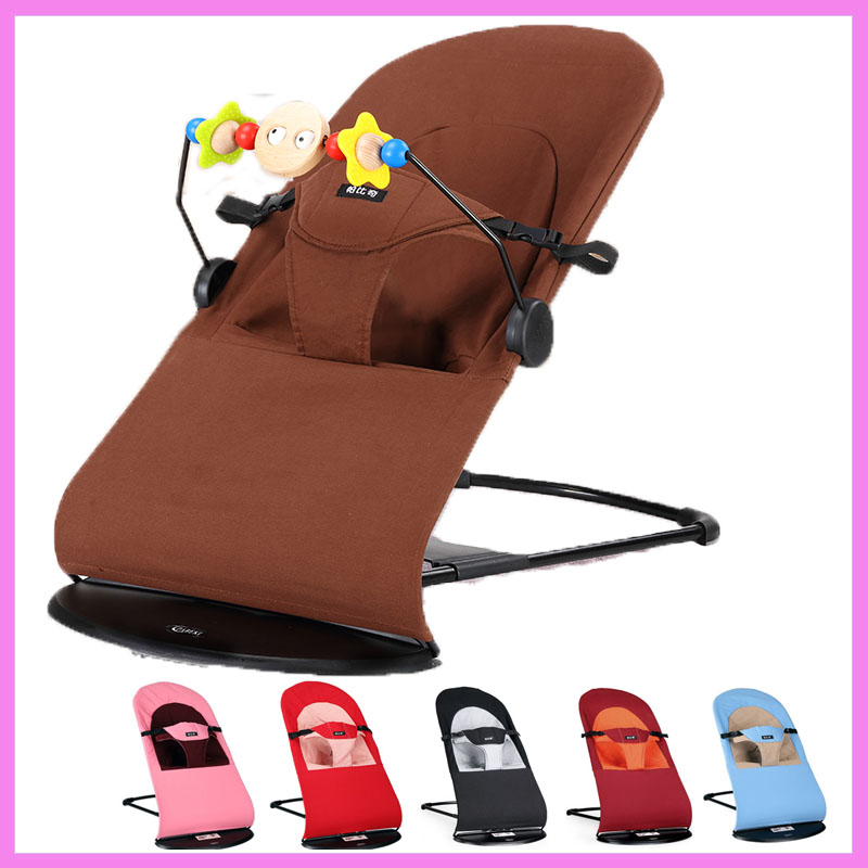 Kids Rocking Chair Multifunctional Swing Nursery Baby Rocker Infant Seat Bouncer Baby Swing Cradle Balance Chair <font><b>Recliner</b></font> 0~20 M