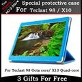 Мода 3-папка Mangetic Закрытие Шелк Флип Стенд Кожа Pu Case For Teclast X10 3 Г четырехъядерный процессор/98 окта основные 10. 7-дюймовый Планшетный пк