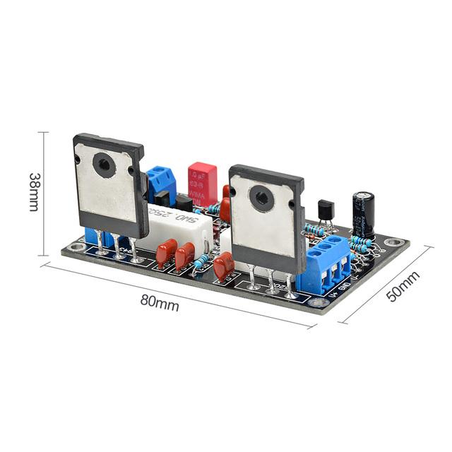 AIYIMA 100W 2SC5200+2SA1943 Audio Amplifier Board HIFI Mono Channel Amplifier Dual DC35V Speaker Home Theater DIY