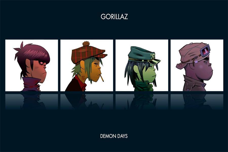 gorillaz лапши