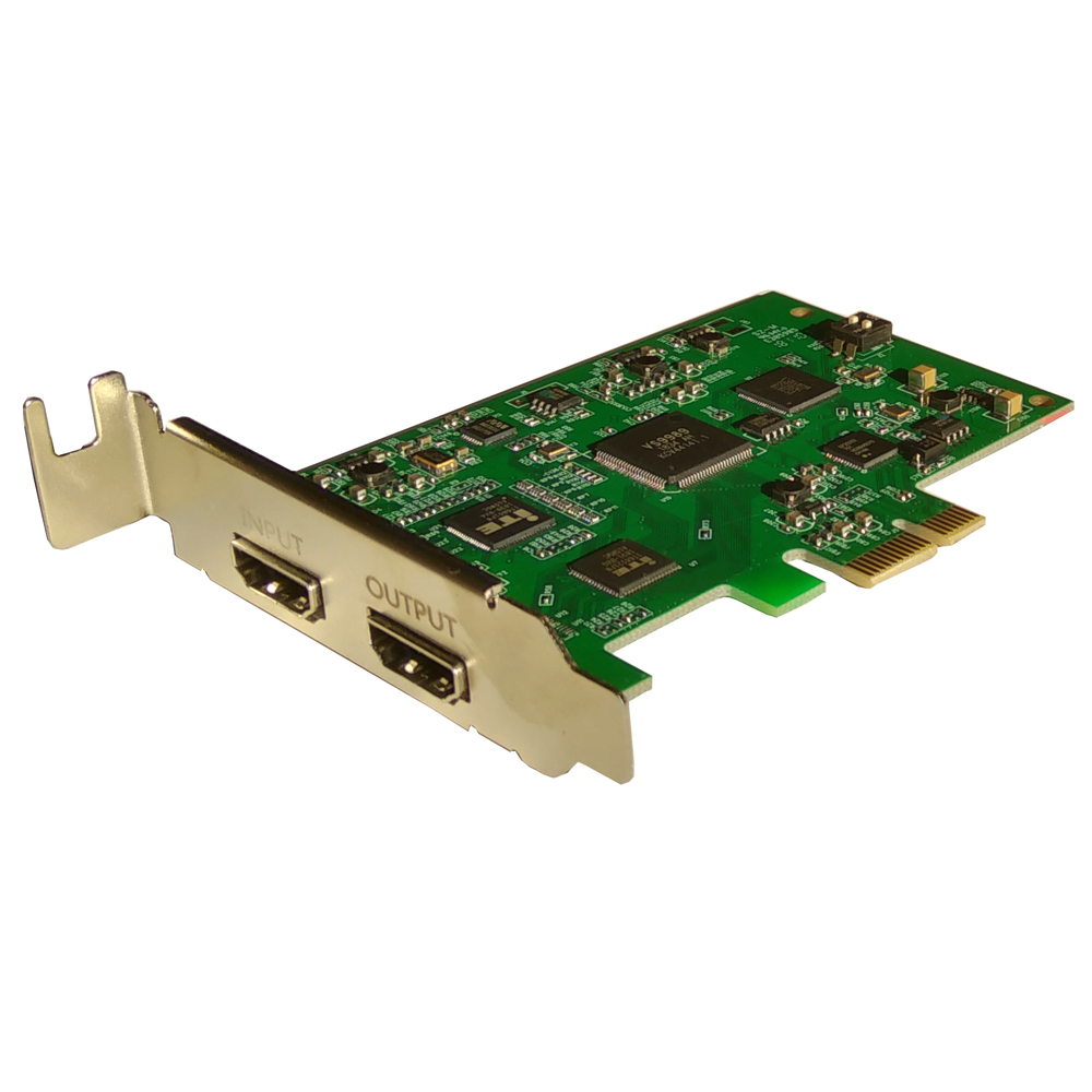 Ezcap294 PCI E <font><b>Video</b></font> <font><b>Capture</b></font> <font><b>Card</b></font> <font><b>HDMI</b></font> 4K 30P Input Output Device for PS3/4 Xbox One/360 WiiU Nintendo Live streaming 1080P@60 image
