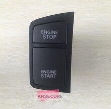 LHD NEGRO Interruptor de Botón de Arranque y Parada Del Motor para audi A6 C6 Avant allroad quattro 2005-2008 4F1 905 217 C