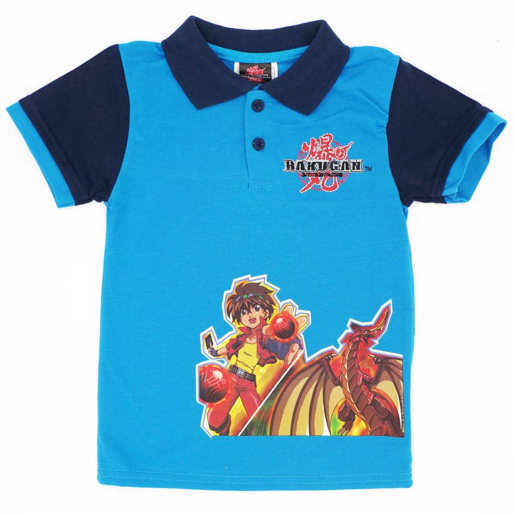 4b10328c4 Niños Niñas Camiseta de manga corta de verano niños ropa bordado patrón de  dibujos animados Tops Camisetas Bebé Polo camisa marca ropa para ...