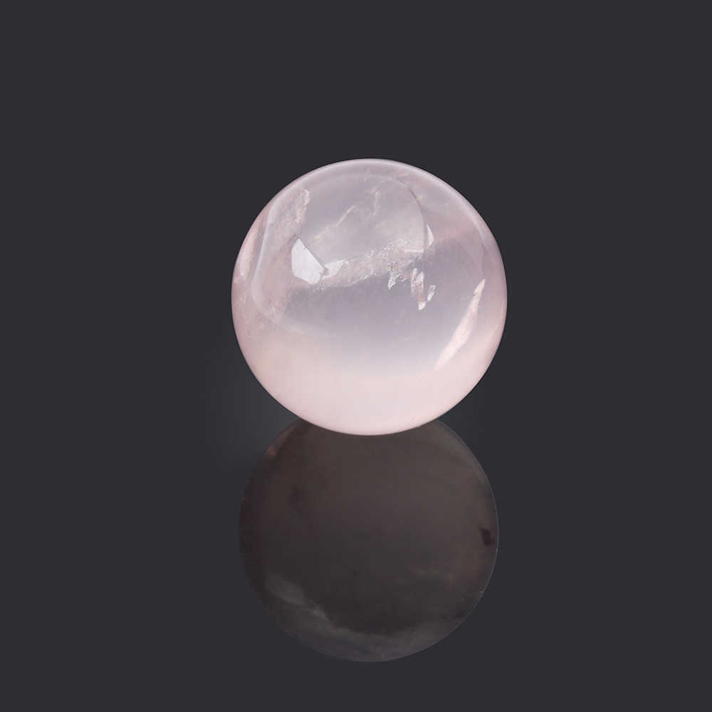 1Pcs DIY Natural Pink Amethyst Quartz Clear Stone Sphere Crystal Fluorite Ball Healing Gemstone Home Decor
