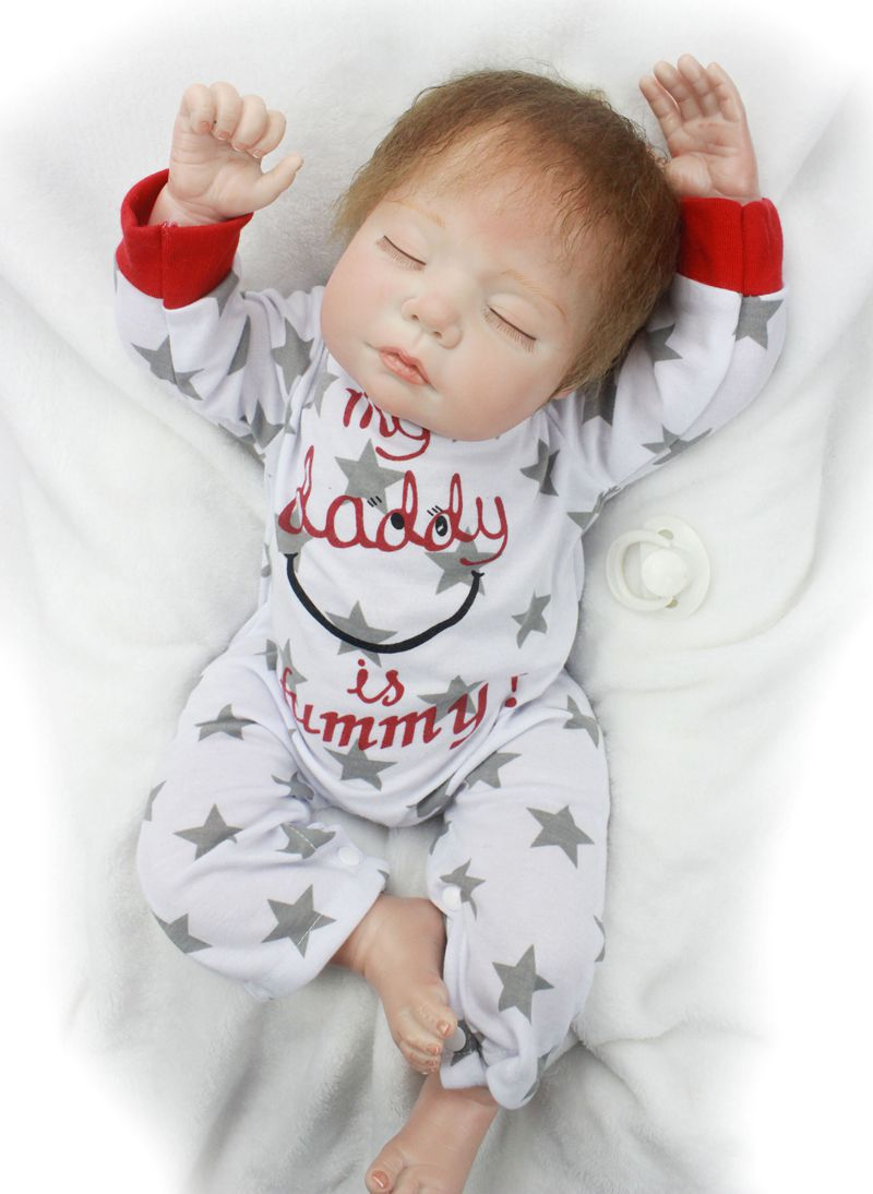 Pursue 22/55 cm Lifelike Doll Reborn Baby Real Silicone Baby Dolls for Sale Dolls Toys for Girls Boys Birthday Christmas Gift 50cm reborn dolls boys silicone reborn baby dolls toys for girls gift novelty lifelike baby newborn doll include clothes and hat