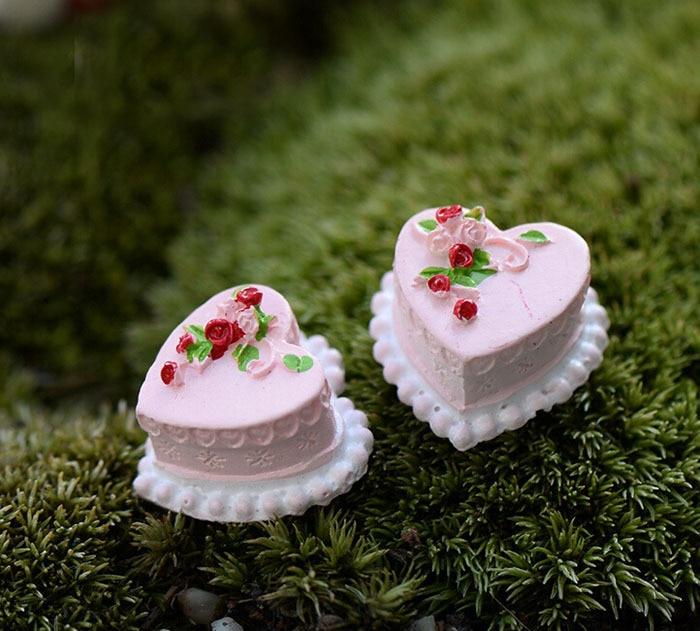 pastel artificial decoden kawaii casa de muecas accesorios mini mundo de la boda decoracin de