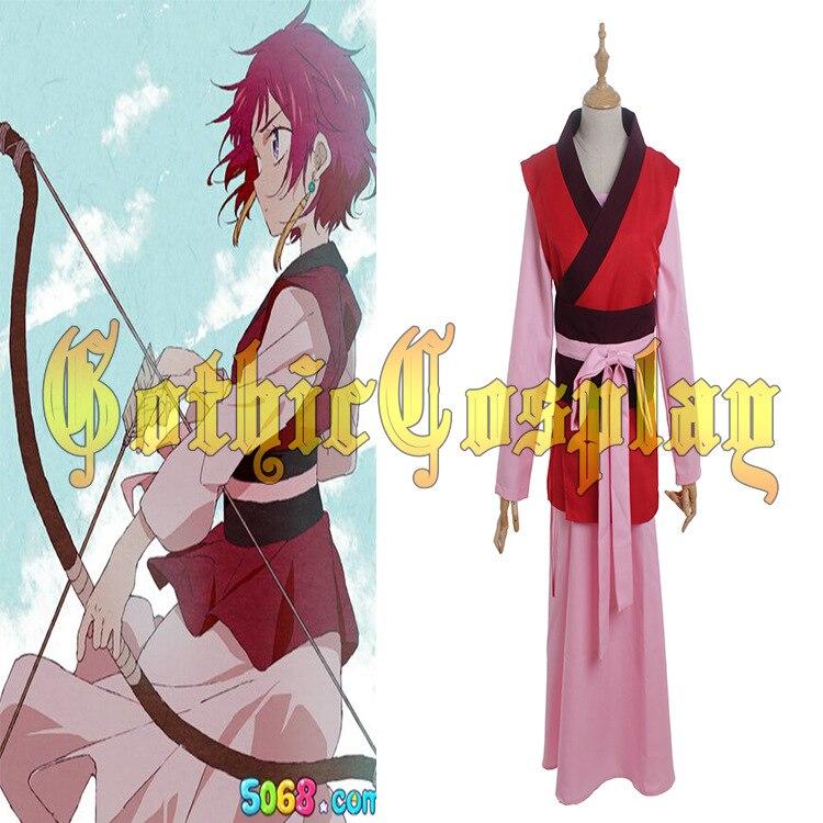 Yona of the Dawn Akatsuki no Yona Cosplay Costume Tailor