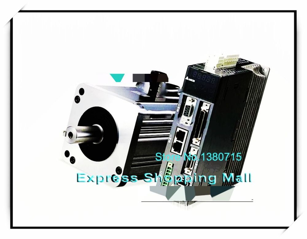 ECMA-J11020SS ASD-A2-2043-M 400V 2KW 3000r/min AC Servo Motor & Drive kits ECMA-J11020SS + ASD-A2-2043-M asd a2 1f23 m delta ac servo drive 3ph 220v 15kw 70a canopen e cam with full closed control new