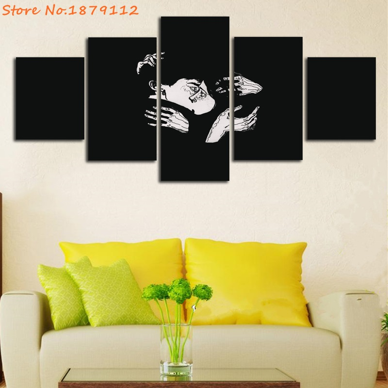 Modern Black And White Abstract Wall Art Ensign - Wall Art Design ...