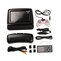 7 Inch Car Headrest Monitor DVD Player with Remote Control Gamepad 1PC