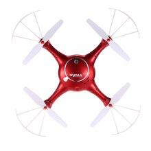 Wifi fpv rc drone X5UW 2.4G 4CH 6 Axis Wifi FPV Real waktu transimision dengan 720 P Kamera RC Quadcopter telepon control rc mainan hadiah