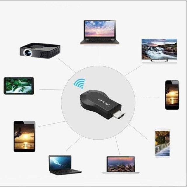 128 M Anycast m2 Miracast כל יצוק אלחוטי 1080 P DLNA השמעות מראה HDMI טלוויזיה מקל Wifi תצוגת Dongle מקלט עבור IOS אנדרואיד