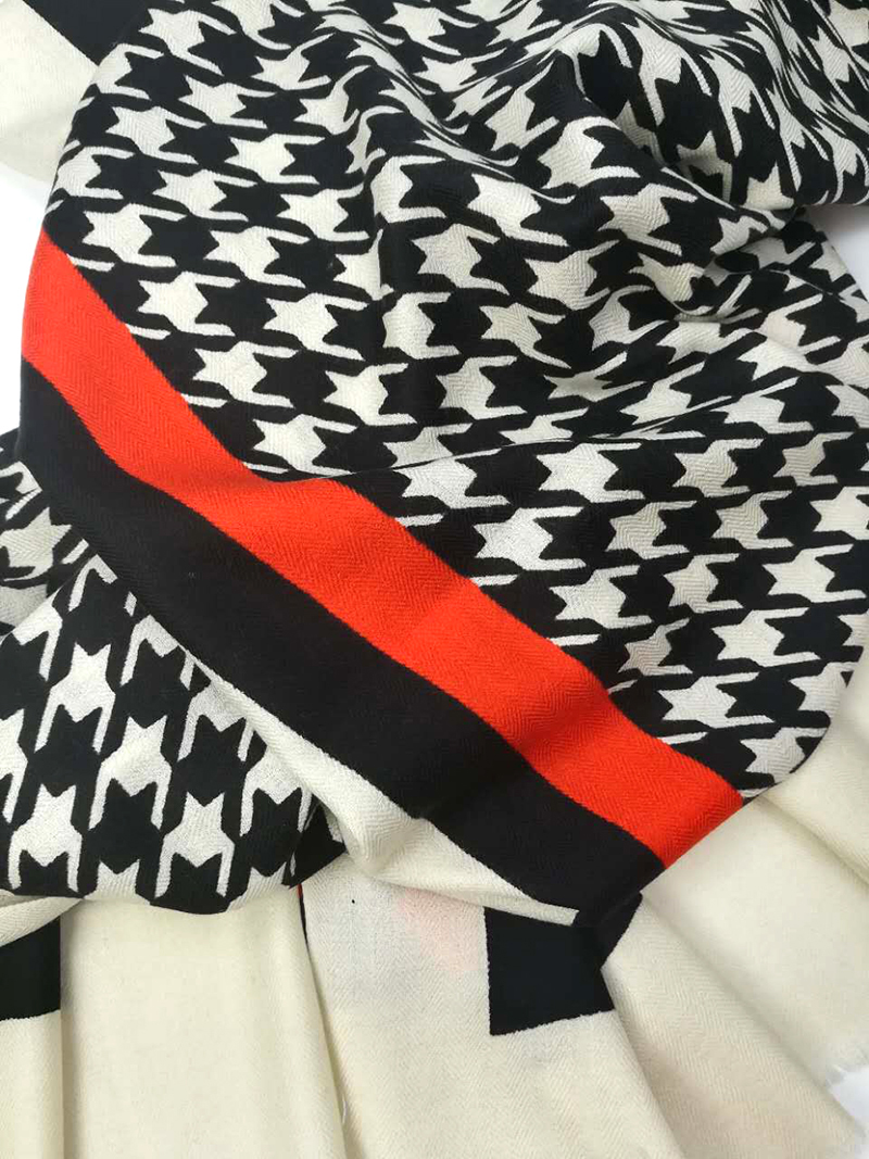 e0816a94ae8fa Luxury Brand Scarf Neutral 2017 Female Male 100% Australian Woolen Cashmere  Scarf Thousand Birds Men Men Winter Warm Scarf-in Women's Scarves from  Apparel ...