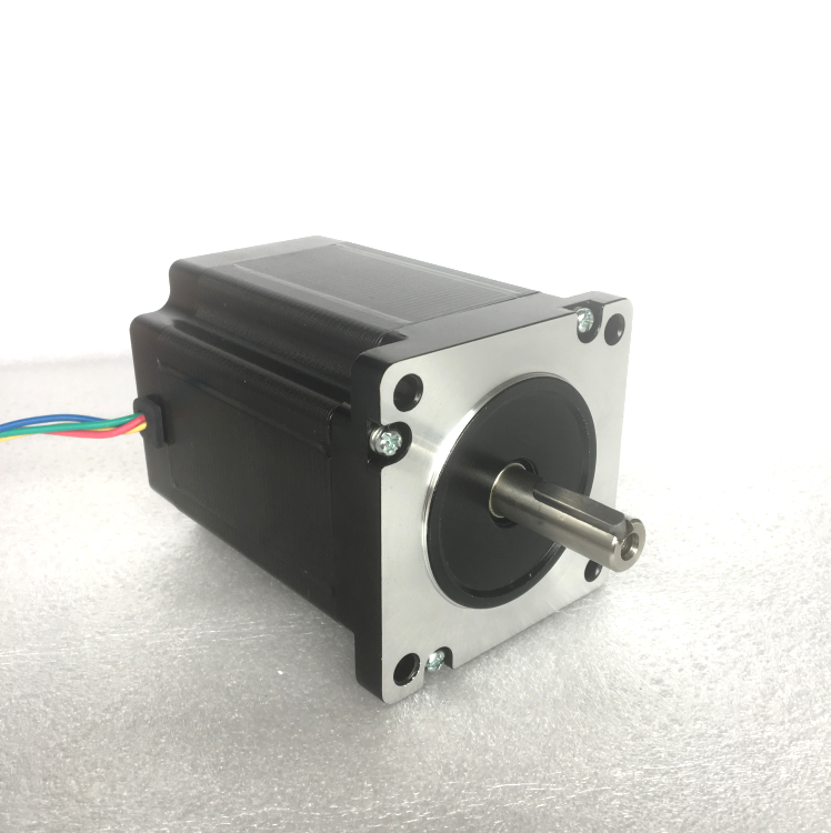 Shipping from Germany!ACT Motor 1PC Nema34 StepperMotor 34HS1450D12.7L34J5-7 900oz-in 114mm 5A 4-Lead 2Phase Engraving Machine shipping from china act motor 1pc nema34 brake motor 34hs5460d14l34j5 s8 1140oz in 150mm 6a 4 lead 2phase engraving machine