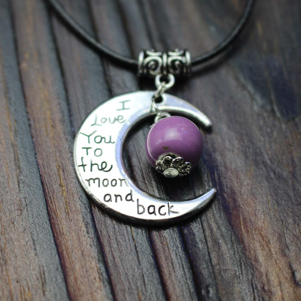 Lucky charm necklace the sun and moon coexist pendant sports casual lucky charm necklace the sun and moon coexist pendant sports casual christmas gift lover sweetheart present alloy ceramic in pendant necklaces from jewelry aloadofball Gallery