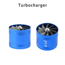 wupp Turbo Chargers & Parts turbo relief valve turbine Vacuum Single Side Air Intake Gas Fuel Saver Fan Turbocharger Jun11(China)