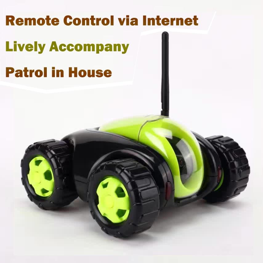 RC автомобиль Танк облако Rover портативная ip камера бытовая техника ИК дистанционное управление одна кнопка Главная С Камера Wi Fi FSWB
