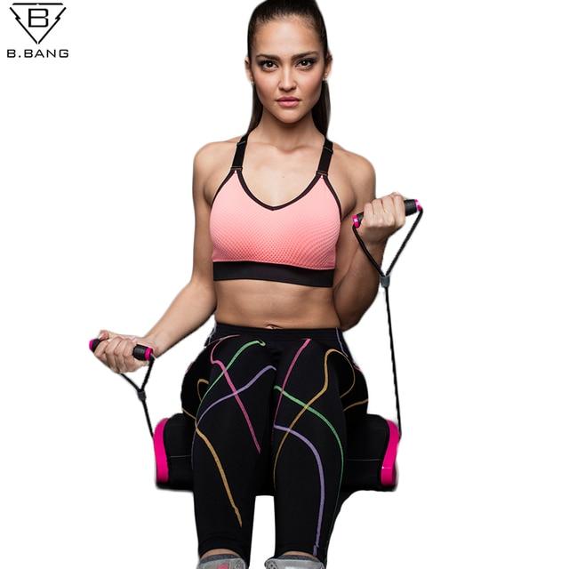 725d222b9b889 B.BANG Women Sports Bra for Running Gym Yoga Shakeproof Sportswear Push Up  Seamless Underwear