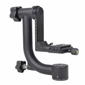 Image 2 - YELANGUแนวนอน360องศาPanoramic G Imbalหัวขาตั้งกล้องสำหรับNikon Canonโซนี่ซัมซุงกล้องดิจิตอลSLRและบ้านDV