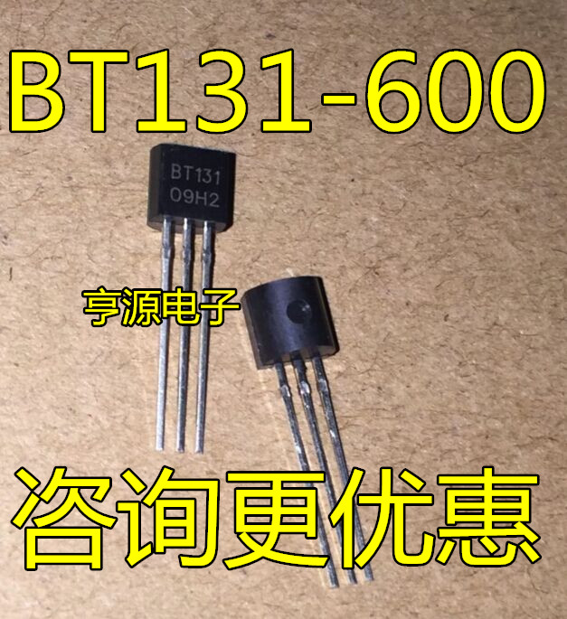 10pcs/lot BT131-600 BT131 TO-92 In Stock