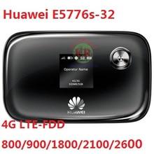 Stary i Używane Unlocked Huawei E5776S-32 tanie 150 100mbps 4G LTE bezprzewodowy router MiFi WiFi Hotspot Komórkowy PK E5377 e5577 e5372 e589