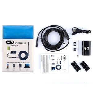 Image 5 - Камера Эндоскоп F99 с Wi Fi и объективом 8 мм, мягкий беспроводной бороскоп с жестким проводом HD720P, Водонепроницаемый Бороскоп для смартфонов