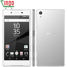 Original Sony Xperia Z5 E6683 Dual SIM 23.0MP Camera 3G RAM 32G ROM Android Phone 4G TD-LTE/FDD LTE 5.2 inch 2900mAh Cell Phone