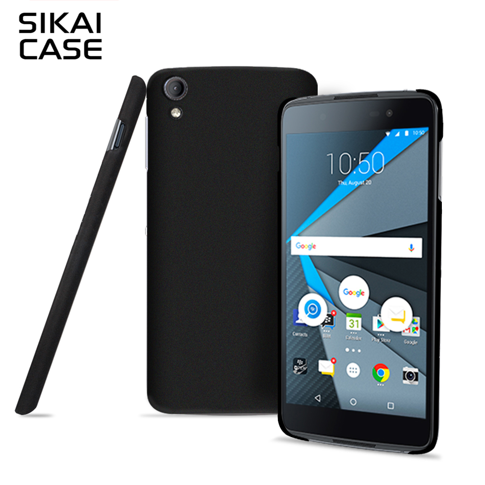 SIKAI Высокое качество супер ультра тонкий shell для BlackBerry ДТЭК 50 резиновая кожи матовая задняя крышка для BlackBerry Dtek50