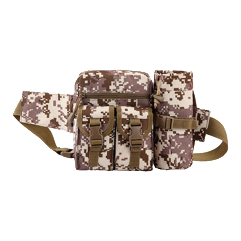 Thunder-Bag's-Bag Water-Bottle-Pockets Mountaineering Riding Outdoor Tactical Camouflage