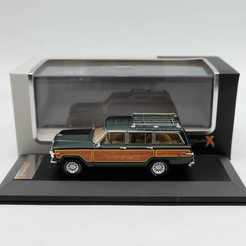 IXO Premium X 1:43 Jeep Wagoneer 1989 Green PRD133 Resin Car Toys Models Limited Edition Auto Collection ixo premium x 1 43 stutz blackhawk coupe 1971 red prd002 limited edition collection resin auto models