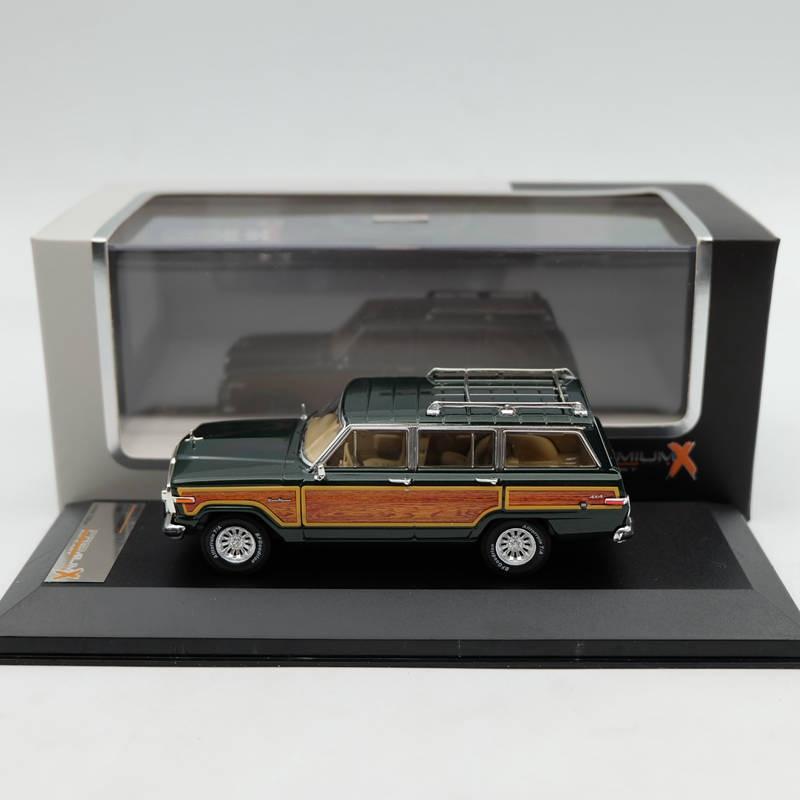 Premium X 1:43 Jeep Wagoneer 1989 vert PRD133 résine voiture jouets modèles édition limitée Auto Collection