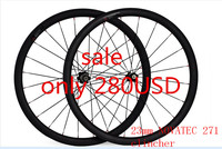 Free Shipping Carbon Wheels 38mm Clincher Wheels 700C Width 23mm Carbon Novatec 271 Hubs Bike Road