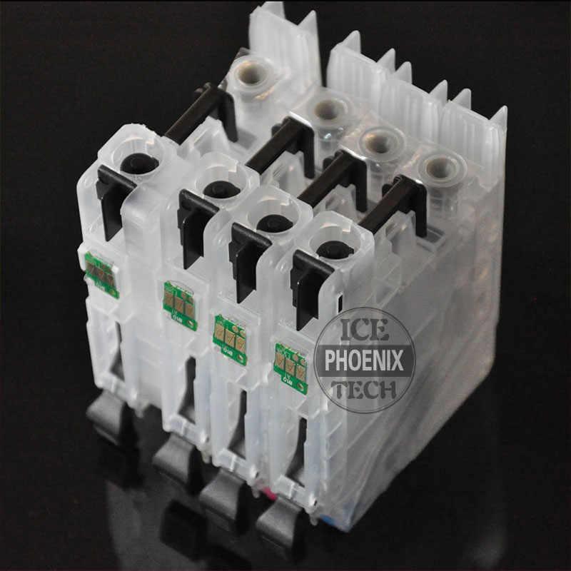 Untuk Brother DCP-J4120DW MFC-J4420 MFC-J4620 J4120DW J4420DW J4620WD J4120 J4420 J4620 LC223 Cartridge Tinta cartridge Isi Ulang
