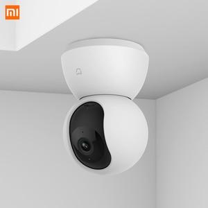 Image 4 - Xiaomi Mijia CCTV Smart IP 360 caméra 1080P WiFi panoramique Vision nocturne 360 vue détection de mouvement Xioami Kit sécurité CN Vistion
