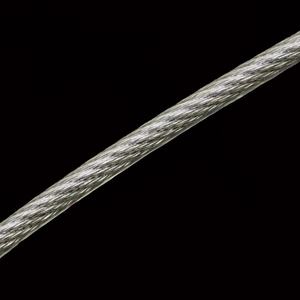 100 Meter 304 Stainless Steel 0.6/0.8/1/1.2/1.5/2mm Steel PVC Coated Flexible Wire Rope soft Cable Transparent Clothesline