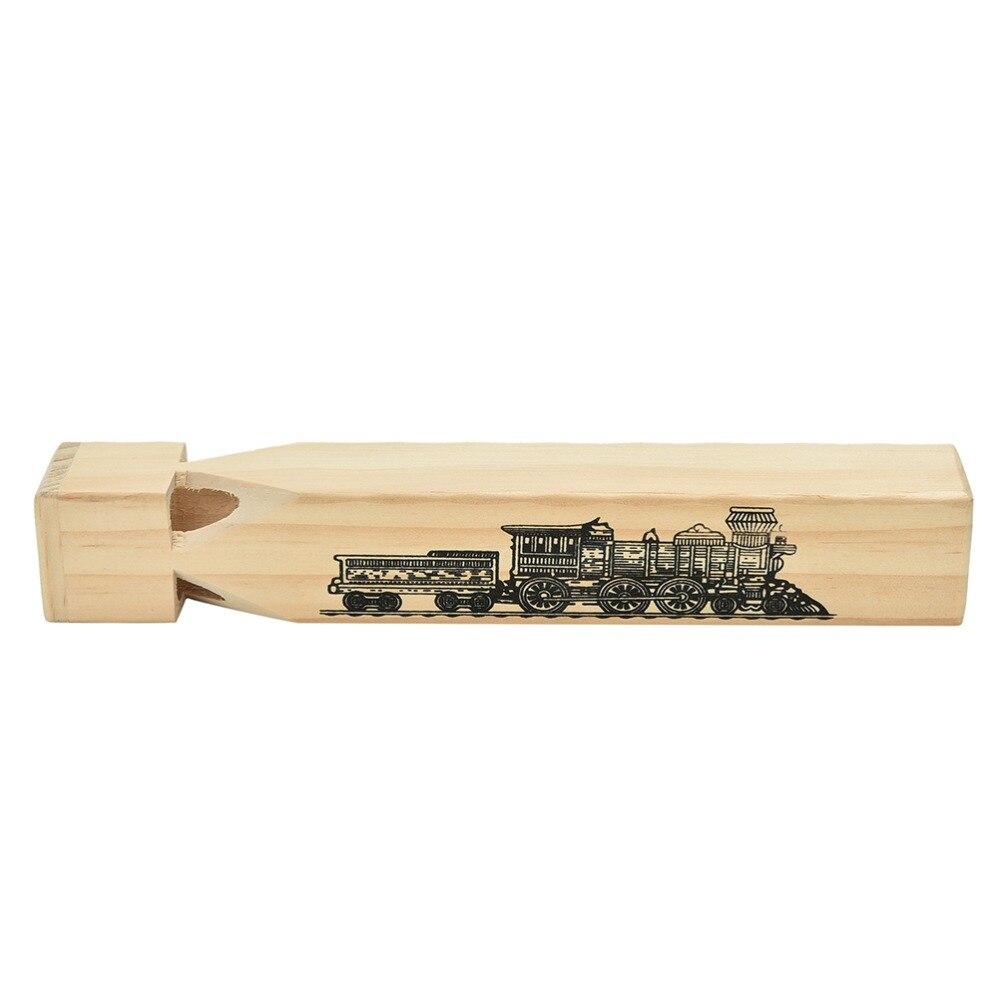 1 Stück Neuheit Holz Musical Zug Pfeife Spielzeug Lustige Geschenk Spielzeug Für Kinder Kinder Lassen Verschiffen Verpackung Der Nominierten Marke