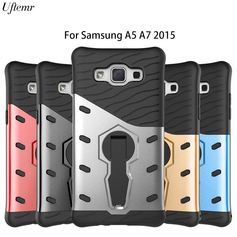 For Samsung Galaxy A5 Case Original Armor Luxury Silicon PC Hard back cover case for Samsung Galaxy A5 SM-A500F A7 2015 A700