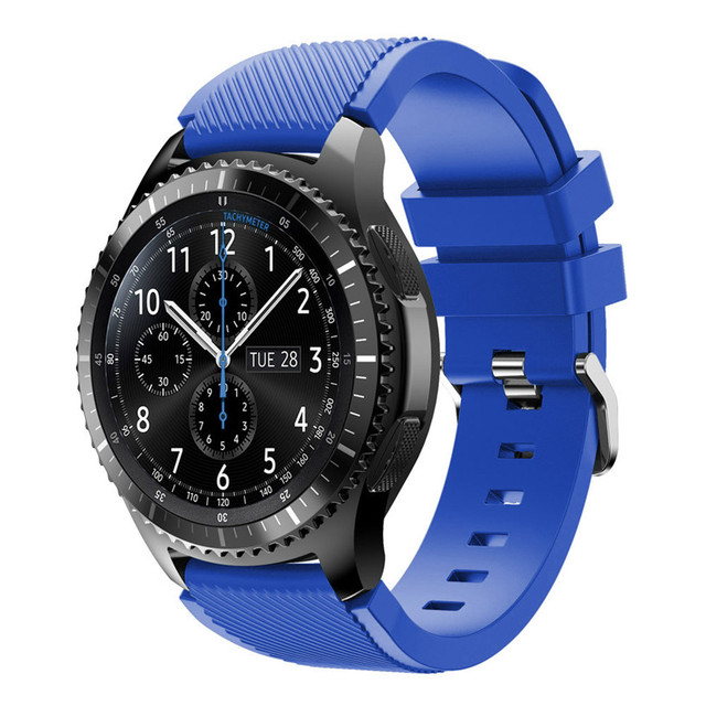 OTOKY Watchbands   Sports Silicone Bracelet Strap Band For Samsung Gear S3 Frontier Sporting Goods Accessories