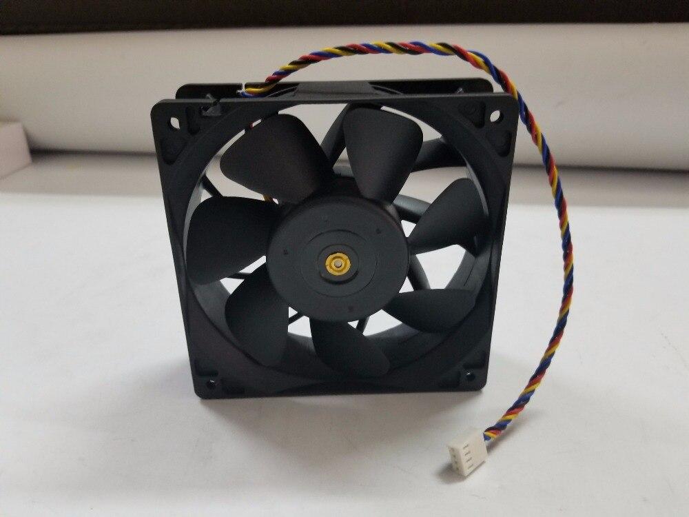 Bitcoin Miner Fan, 12 cm PWM Fan für AntMiner S9 S9j T9 + L3 + D3 A3 V9 Z9 Mini L3 + + E3 x3 WhatsMiner M3 Leistungsstarke Fan, geschwindigkeit 6000