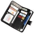 Роскошный многофункциональный 3 слой кошелек сумка карт памяти крышка Телефона два-в-одном Сепарабельном кожаный чехол Для Samsung Galaxy S7/S7 Края